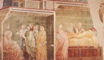 Foto mural Birth and Naming of the Baptist